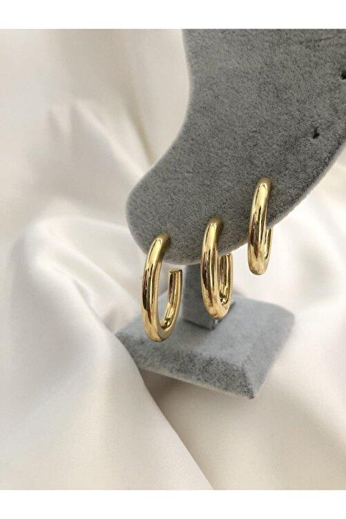 The Y Jewelry 3 Lü Gold Küpe 2