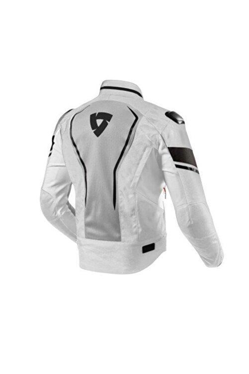 Revit Vertex Air Yazlık Fileli Motosiklet Ceketi Siyah Gri 2