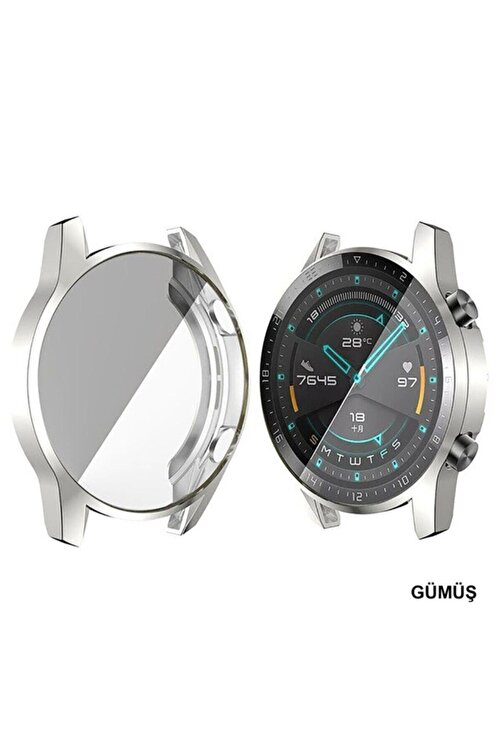 Cimricik Huawei Watch Gt2 46 Mm 360 Derece Kasa Ve Ekran Koruyucu 1