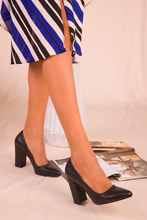 SOHO Siyah Kadın Klasik Topuklu Ayakkabı 15313 2
