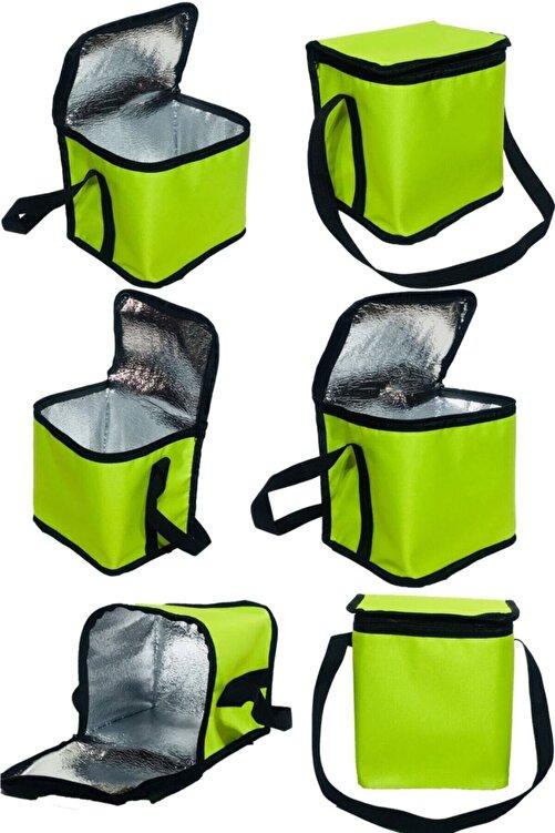 Carneil Shelay Design 8 Litre Alüminyum Folyo Kaplı Soğuk Korumalı Buzluk Termal Gıda Taşıma Çantası She65 1