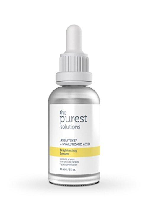 The Purest Solutions Leke Gidermeye Yardımcı Cilt Tonu Eşitleyici Cilt Bakım Serumu 30 ml Arbutin %2 + Hyaluronic Acid 2