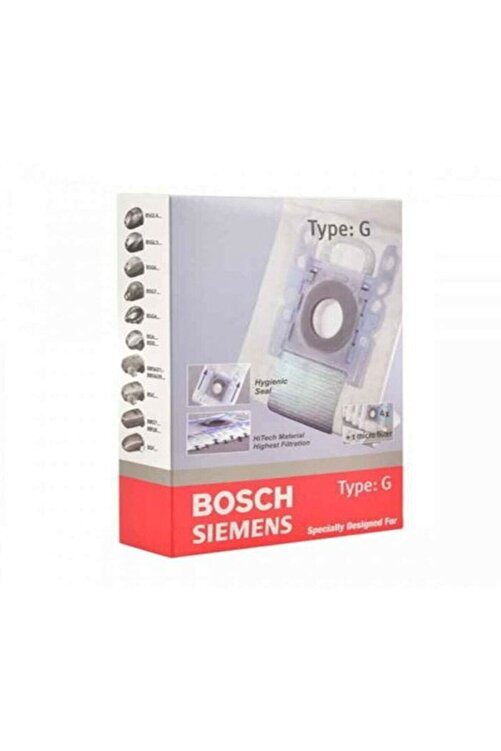 Bosch Siemens Typ G Süpürge Toz Torbası 4 Adet Type G 2