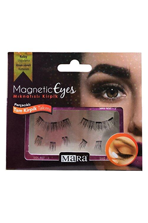 Mara Magnetic Eyes Mıknatıslı Tam Kirpik Takımı-parçalı 1