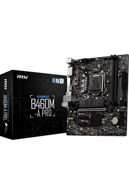MSI B460m-a Pro Intel B460 2933mhz Ddr4 Matx Anakart 1