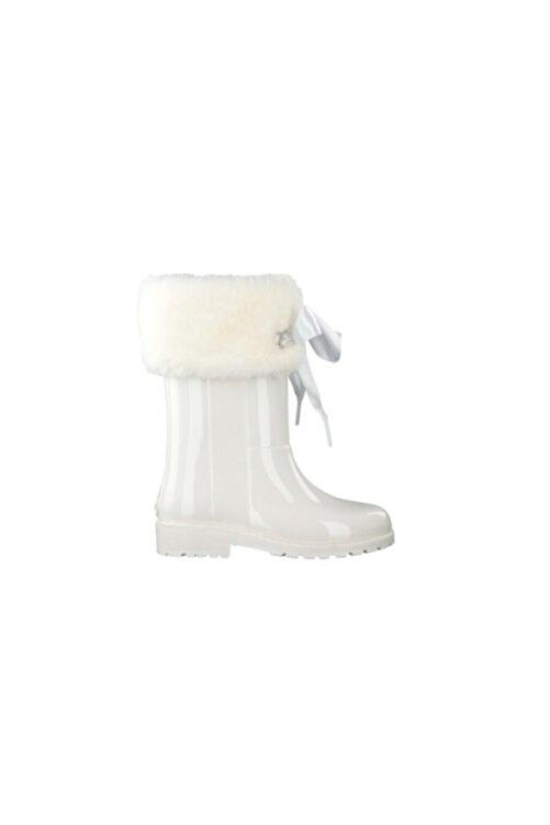 IGOR Kız Çocuk Beyaz Yağmur Çizmesi 2