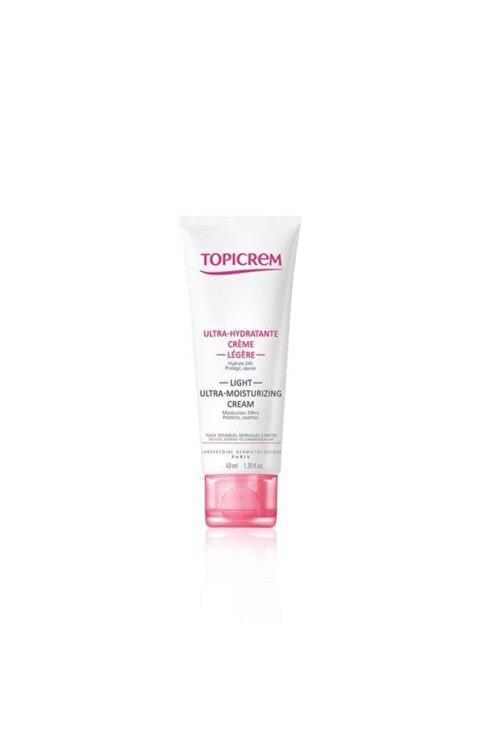 Topicrem Ultra Moisturizing Face Light Cream 40ml 1