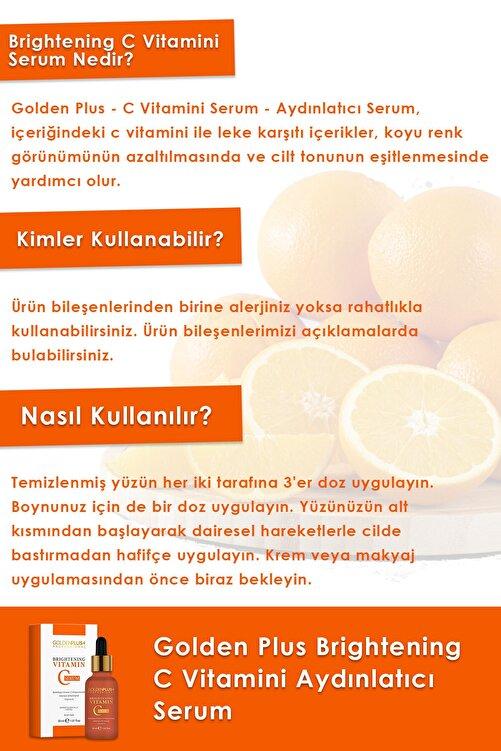 GoldenPlus C Vitamini Aydınlatıcı Serum 30 ml 2