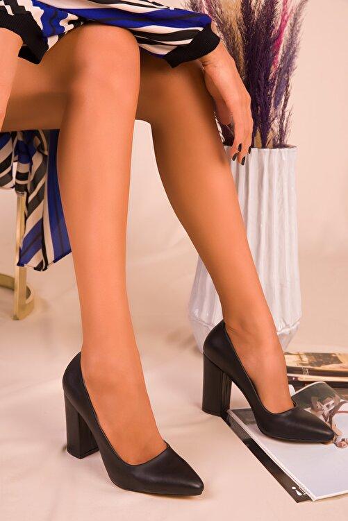 SOHO Siyah Kadın Klasik Topuklu Ayakkabı 15313 1