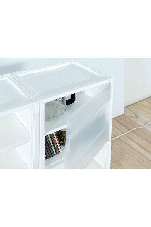 Hipaş Plastik Modüler Sistem Çok Amaçlı Organizer Kutu - Kd-2936 A-bu (mavi ) 2