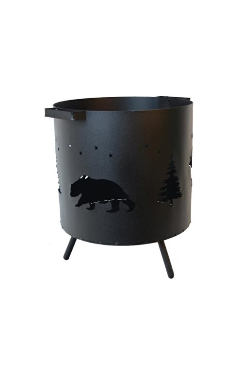 NURGAZ Orman Şöminesi Izgaralı 2