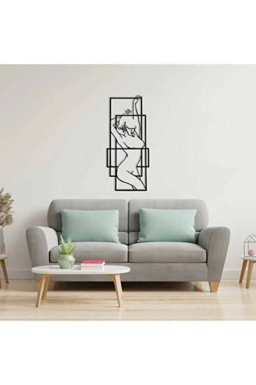 LineTab Nude Full Body Metal Wall Art - 42,5x98cm 1