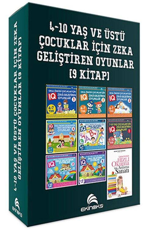 Ekinoks 4-10 Yaş Ve Üstü Çocuklar Için Iq Zeka Geliştiren Oyunlar - 9 Kitap Takım 1