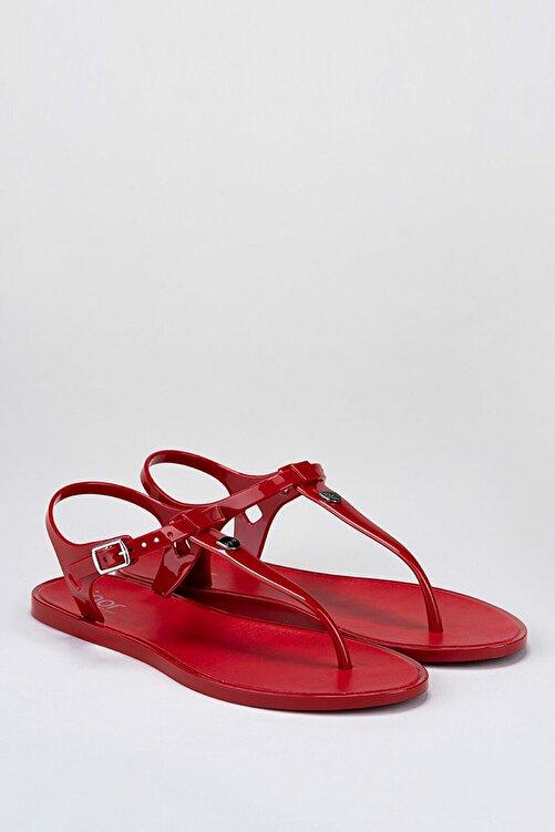 IGOR S10172 Ursula Basıc Kırmızı Kadın Sandalet 2