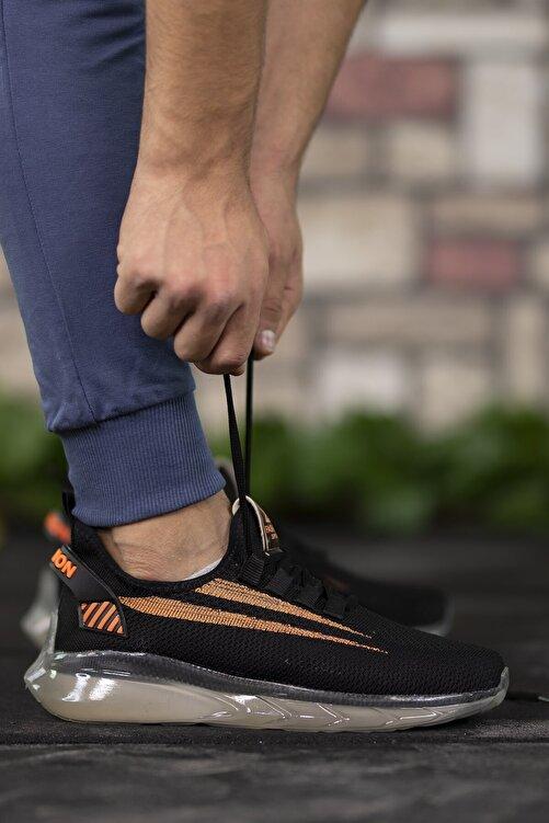 Riccon Siyah Turuncu Unisex Sneaker 0012450 2