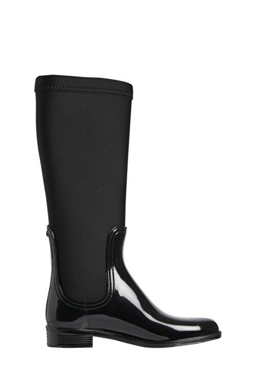 Tommy Hilfiger Fw0fw05964bds Siyah Kadın Yağmur Çizmesi 1