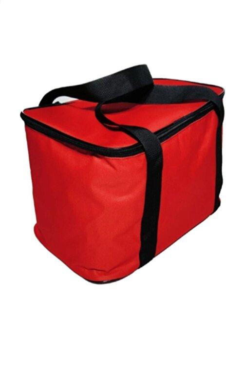 ezivahome Kırmızı Ve Mavi Ve Siyah 27 Litre Sıcak Soğuk Tutucu Kamp Piknik Termos Buzluk Çanta 2
