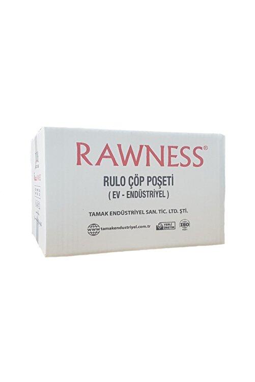 RAWNESS 40 x 50 Beyaz Küçük Boy Çöp Poşeti 40 Lı 5 Rulo 1