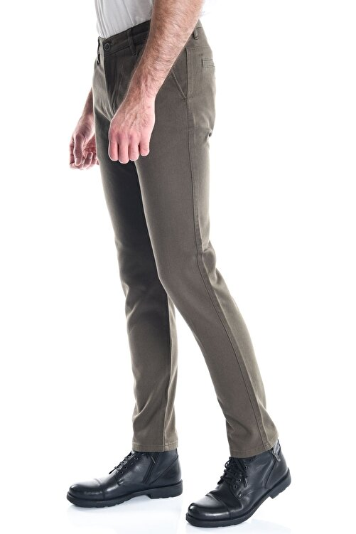 LTC Jeans Haki Erkek Slimfit Chino Pantolon 2