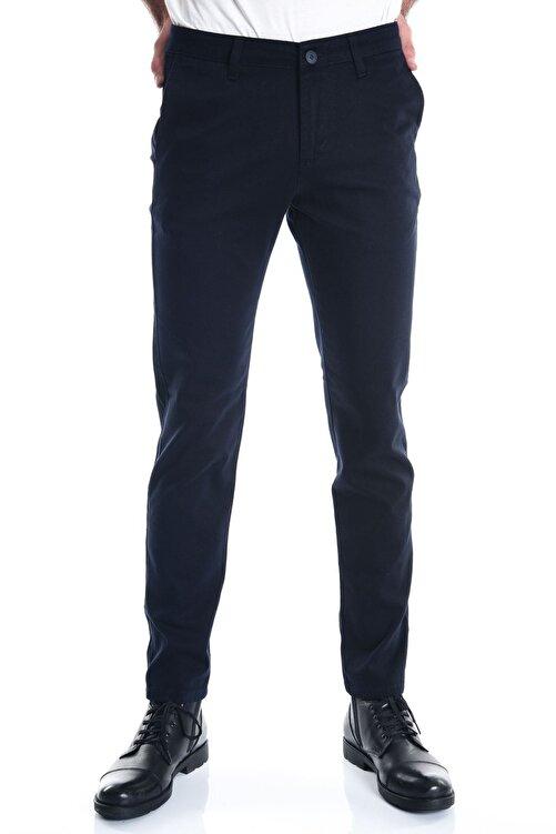 LTC Jeans Lacivert Petek Dokuma Chino Erkek Pantolon 1