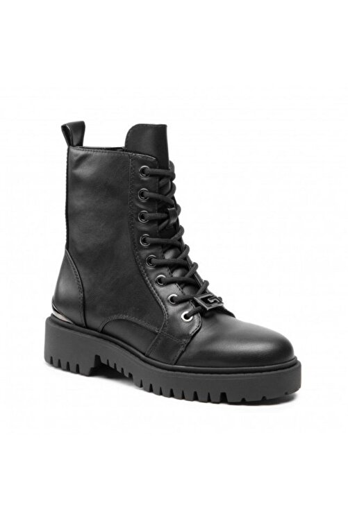 Guess Omala Stıvaletto Bootıe Leat Kadın Ayakkabı 1