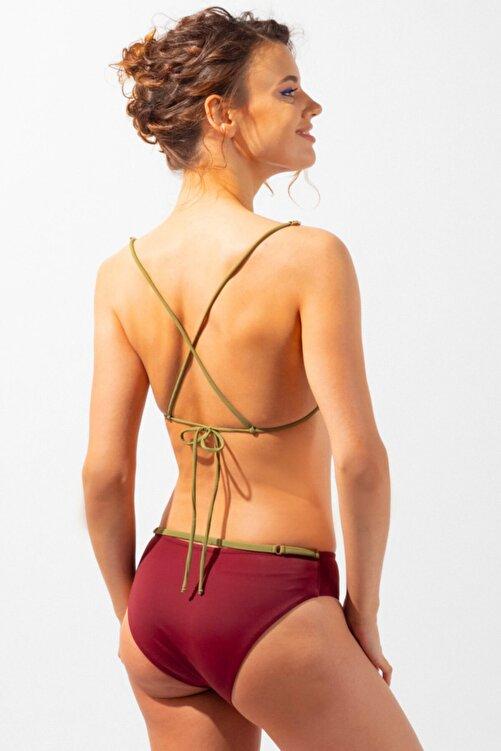 Katia&Bony Ambient Amber Ip Askılı Kadın Bikini Bordo 2