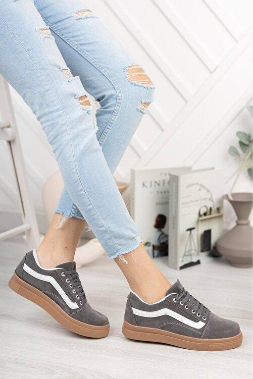 pasyone Kadın Gri Sneakers Ayakkabı 1
