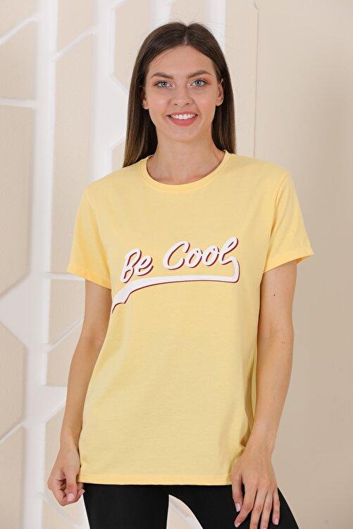 UYG Renklistore Be Cool Baskılı T-shirt 2