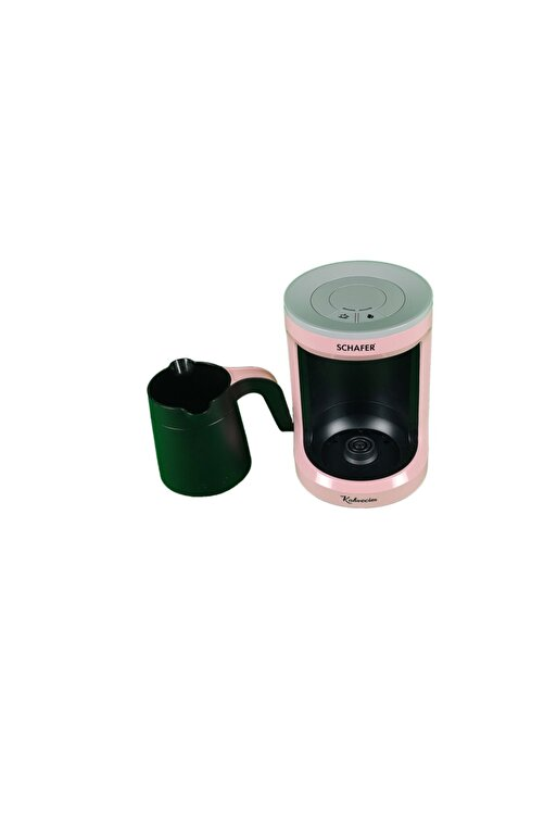 Schafer Kahvecim Otomatik Türk Kahve Makinesi Pembe 1
