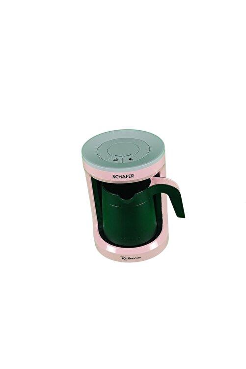 Schafer Kahvecim Otomatik Türk Kahve Makinesi Pembe 2