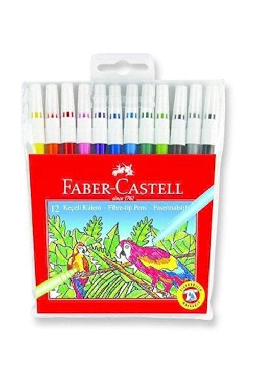 Faber Castell Keçeli Kalem 12 Renk 1