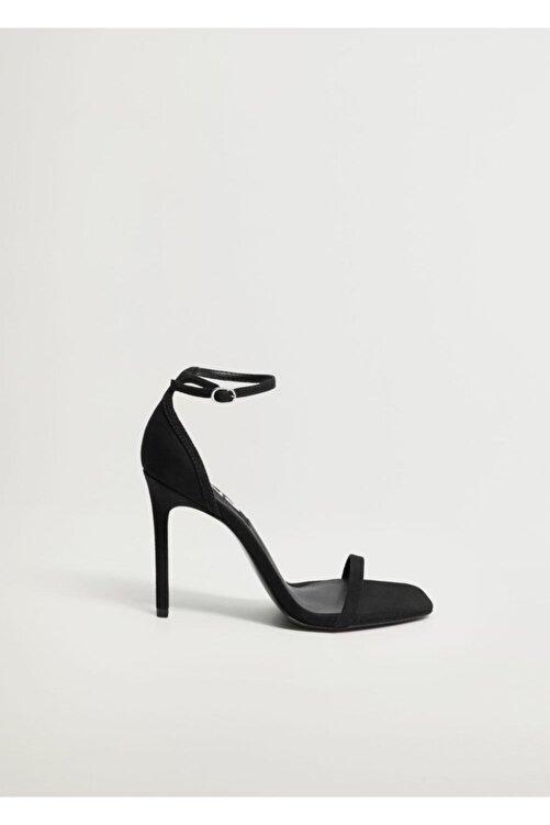 MANGO Woman Bilekten Bağlamalı Sandalet 2
