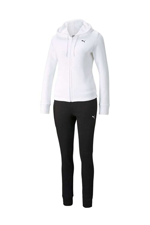 Puma Kadın Spor Eşofman Takımı - Classic Hooded  - 58913202 1