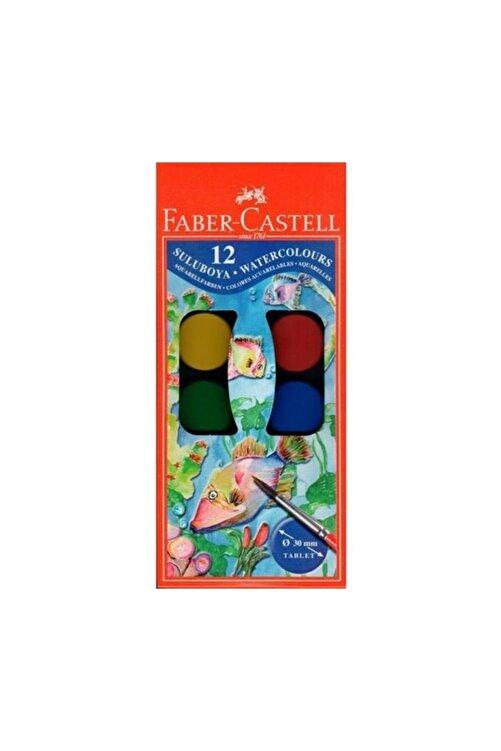 Faber Castell Sulu Boya Küçük Boy 12'li 1