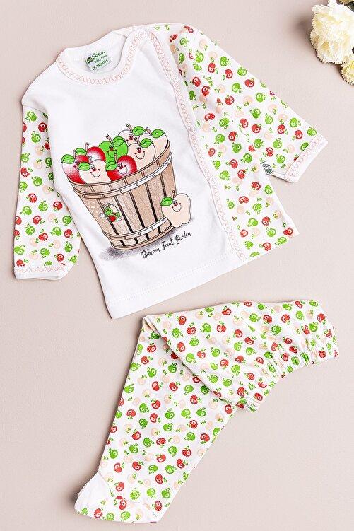 Babymod Kız Bebek Takım Elma Temalı Ikili Bebek Takım 1