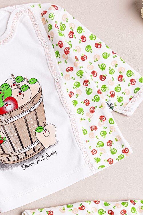 Babymod Kız Bebek Takım Elma Temalı Ikili Bebek Takım 2