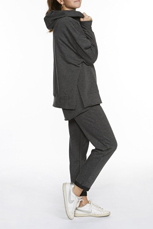 BASIC&CO Rhea Antrasit Jogger Pantolon 2