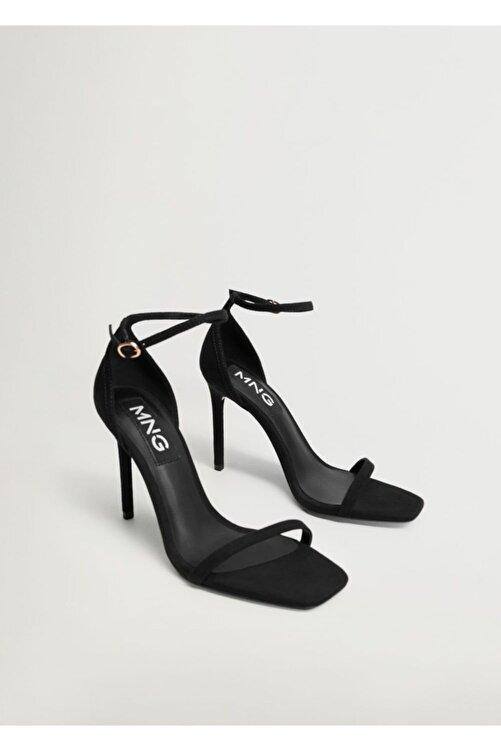 MANGO Woman Bilekten Bağlamalı Sandalet 1