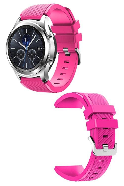 CONOCER Samsung Gear S3 Frontier/classic - Gt/gt2 Spor - Samsung Galaxy Watch 3 45mm Silikon Kordon Kayış 1
