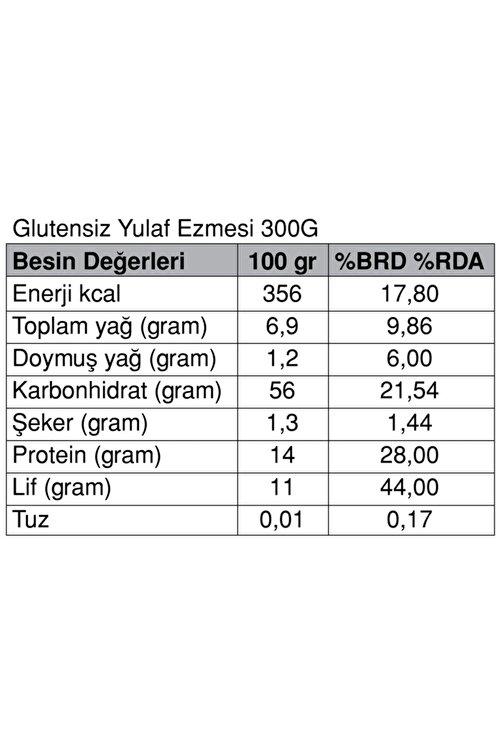 Güzel Gıda Glutensiz Yulaf Ezmesi 300 Gr 2