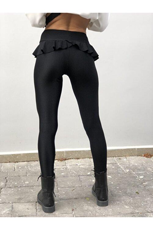 MAIO TASARIM Kadın Dancing Girl Siyah Tayt 2