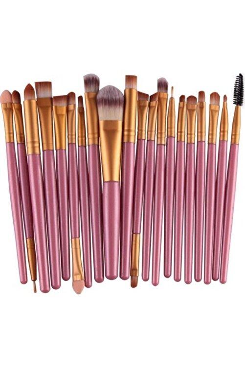 Makeuptime Izla 20'li Profesyonel Yumuşak Makyaj Fırça Seti Mor Renk 1