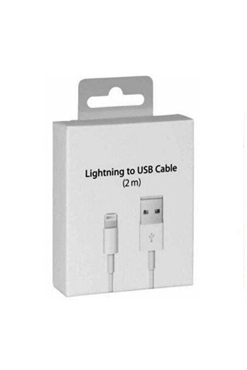 Bestshop Apple Iphone Uyumlu 2 Metre Şarj Kablosu Usb Lightning 2