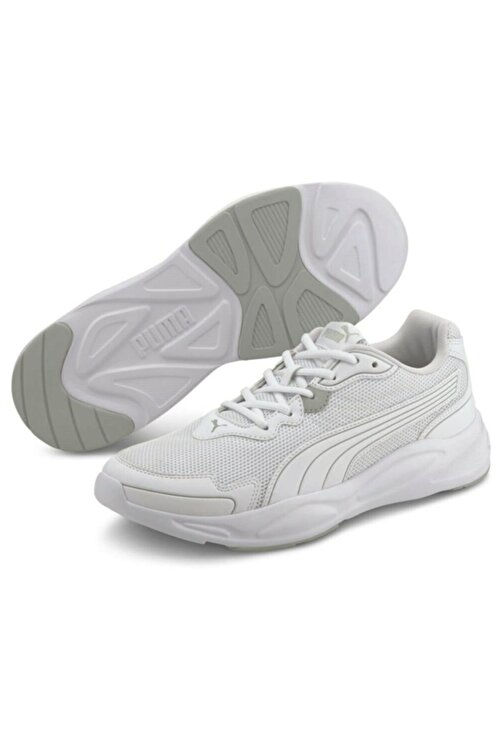 Puma 90s Runner Nu Wave Günlük Ayakkabı Beyaz 2