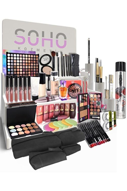 Makeuptime Gelin Çeyiz Makyaj Seti 62 Parça Beyaz Ten 1