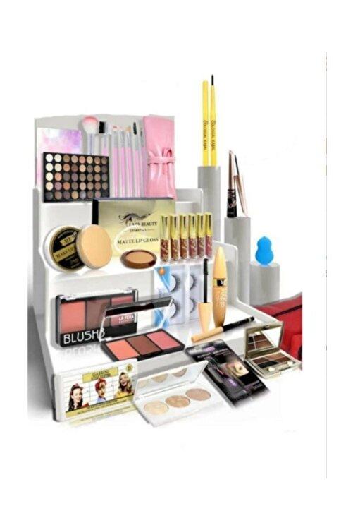 Makeuptime Ekonomik 30 Parça Makyaj Seti Beyaz Ten 1