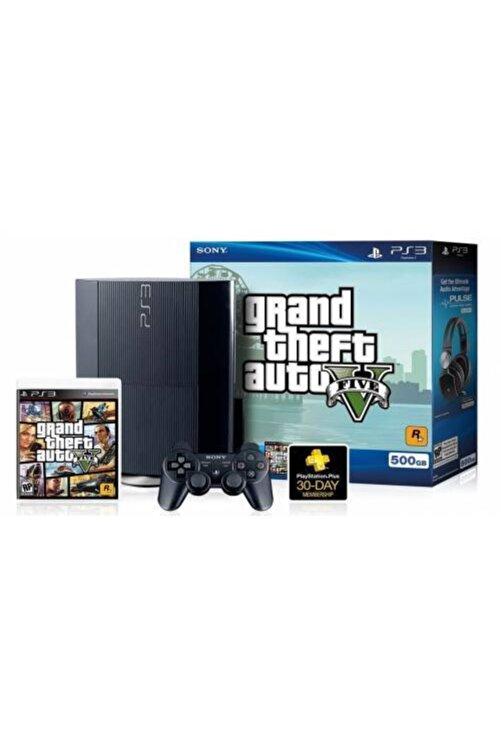 Sony Fifa 21 Pes 21 Gta5 40-45 Oyun Paketli Ps3 500 Gb 2 Yıl Garantili 1
