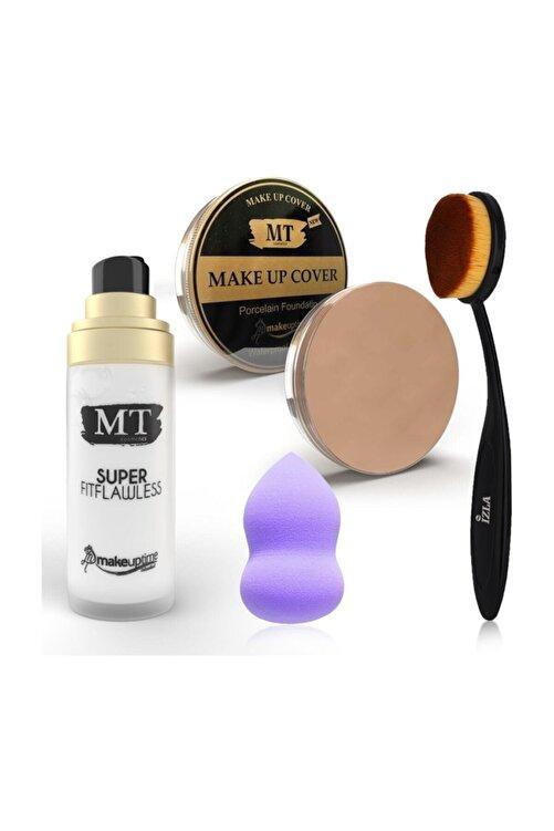 Makeuptime Makyaj Bazı+kapatıcı+kaşık Fırça+sünger 1