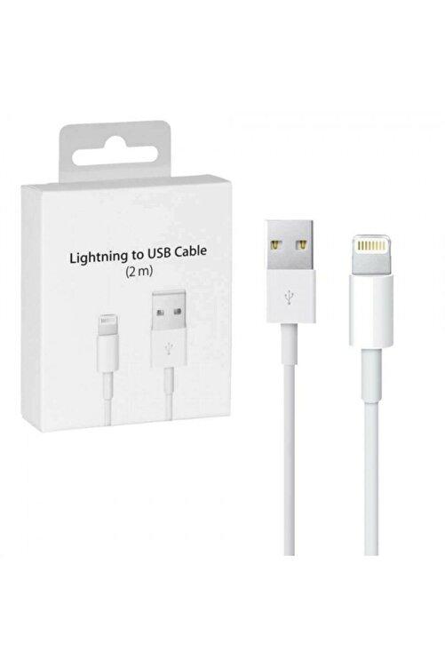 Bestshop Apple Iphone Uyumlu 2 Metre Şarj Kablosu Usb Lightning 1