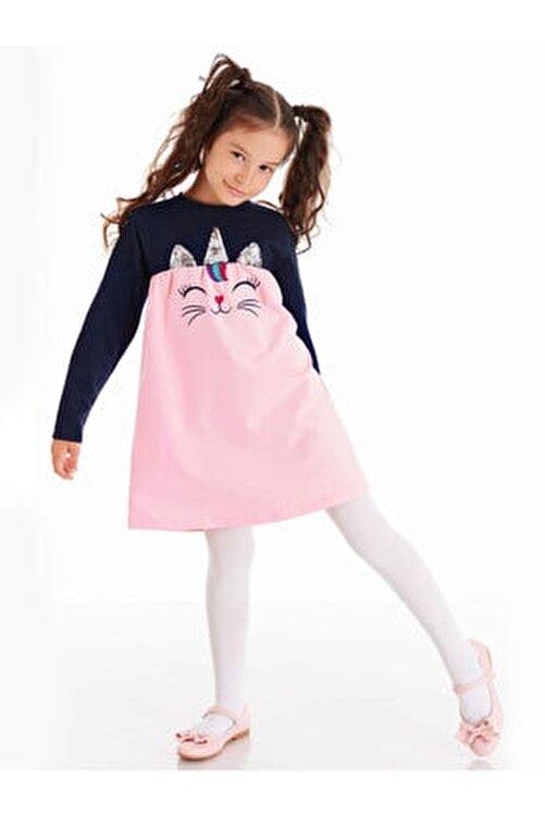 Denokids Payetli Catcorn Kız Elbise 1